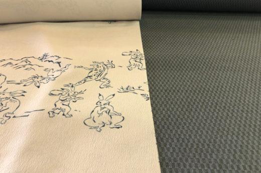 シルクウールの羽織