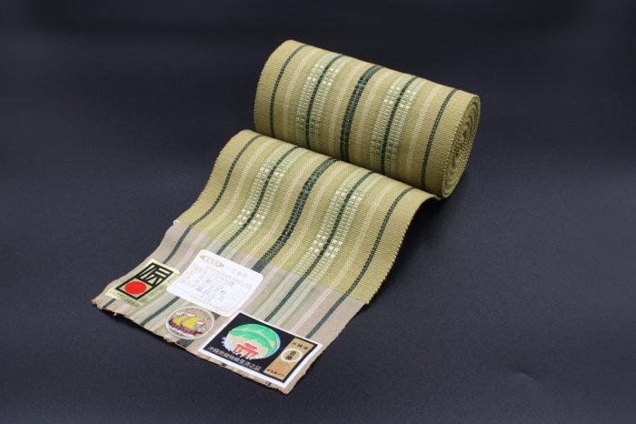 首里道屯織の半巾帯