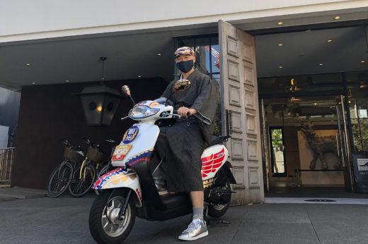 Honda BIKE GO STANDの『ほうおう号』