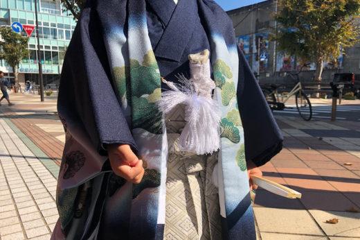 七五三詣りの着付けを承った唐津っ子
