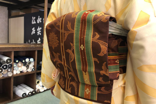 新春七五三詣りのお手伝い。
