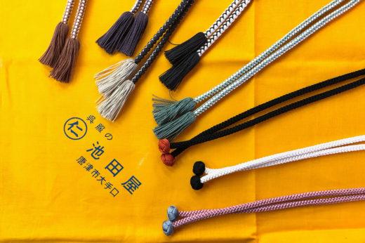 可愛らしい羽織紐たちが入荷。