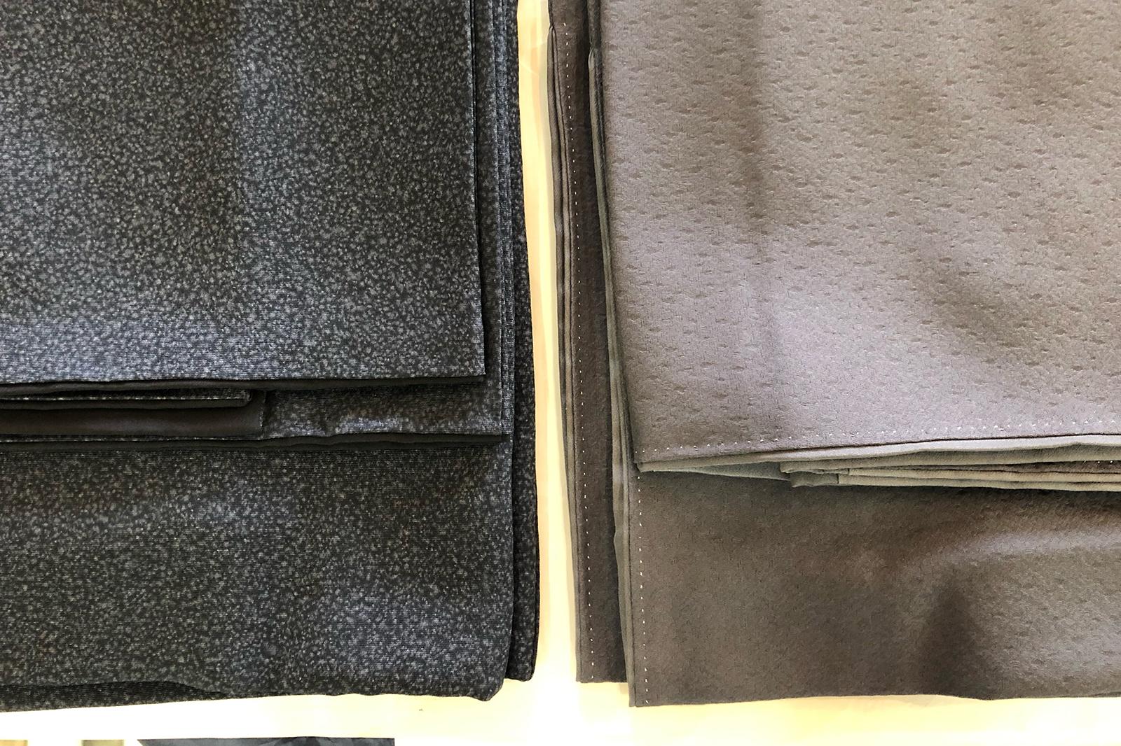 一枚は袷を単衣に、もう一枚はガラリと違う色に染め替えて。