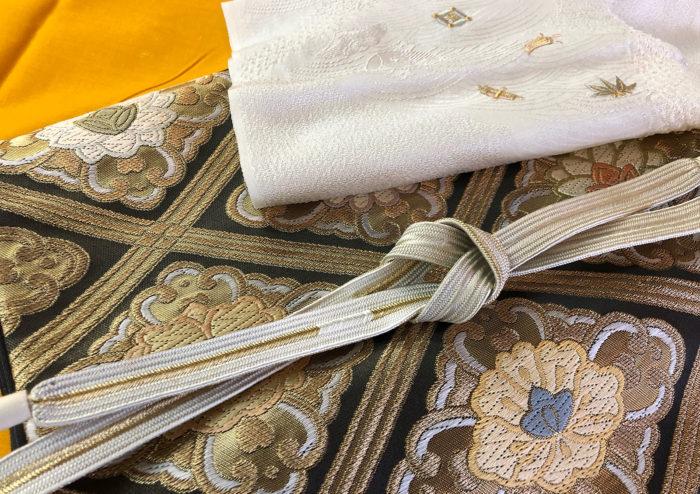 袋帯と帯〆帯揚